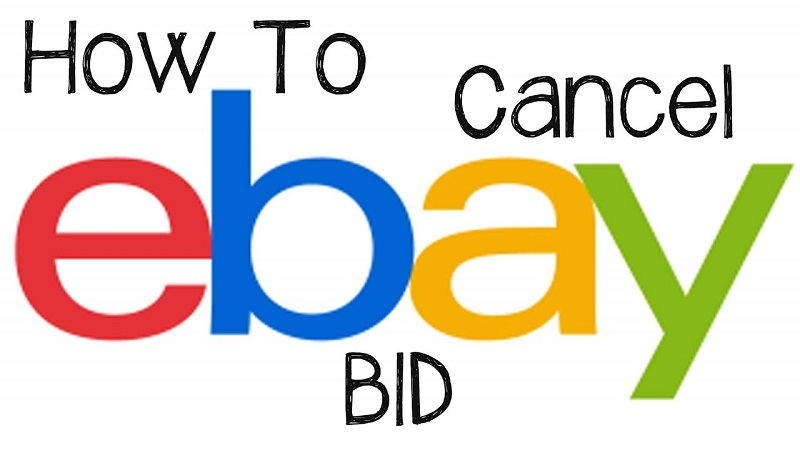 how to cancel an ebay bid