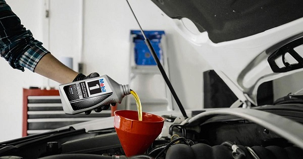 mobil oil change business